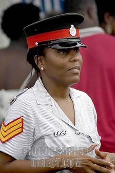 Jamaican woman police officer
