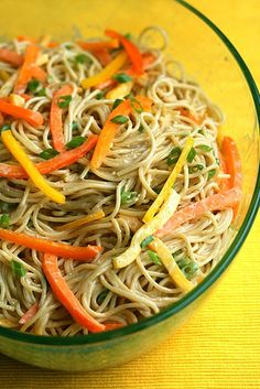 szechuan noodles - need to get some pantry items to make this one.