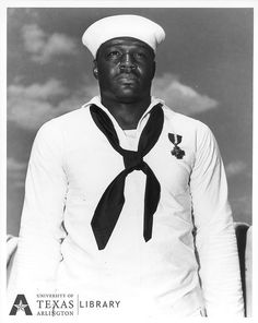 Dorie Miller, Pearl Harbor Hero by Special Collections-UTA, via Flickr