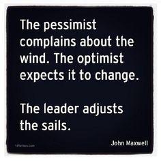 Sail through the rough seas - make it happen!!