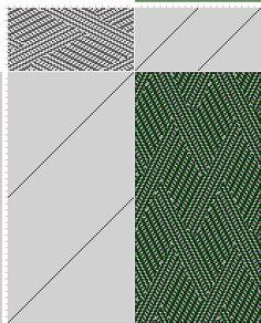 draft image: 40 sur 80, Planche A, No. 4, P. Falcot: Traité Encyclopedique et Méthodique de la Fabrication Des Tissus, 40S, 80T