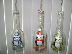 My New Craft ~ WineChimes and Glow