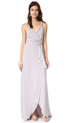 The Parker Twist Strap Wrap Dress