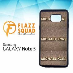 Michael Kors Jet Set X4232 Samsung Galaxy Note 5 Case