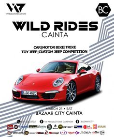 Car show alert! Show Must Go On, Car Show, Philippines, Jeep, Porsche, Competition, Character Design, Bike, Bicycle