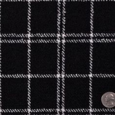 This black-and-white wool boucl
