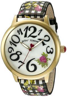 Betsey Johnson Women's Multi-Color Watch