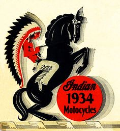 Indian Motorcycles 1934