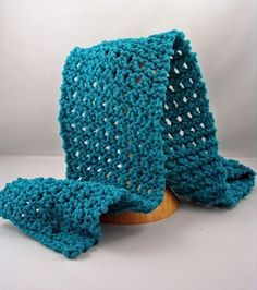 FOUR ROW LACE SCARF in a weekend -- two balls of yarn, four rows of knitting to memorize, . Free knitting patterns for scarves, like this one, are great for using up leftover skeins in your collection, and when they're bulky, they also make the perfect project for lazy days spent knitting on the sofa. So sit back, relax and knit yourself a stylish lacy scarf!  Four Row Lace Scarf  Four Row Lace Scarf  This image courtesy of     Easy    Knitting Needle S Knitting store