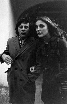 Roman Polanski & Sharon Tate by Bill Ray, London 1968.