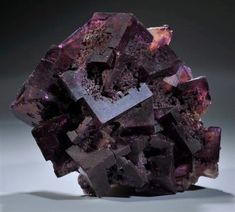 Fluorite - Denton Mine, Hardin County, Illinois