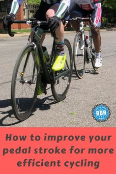 Learn how to improve your pedal stroke in cycling so that you can ride your bike faster, stronger and more efficiently. #cycling #bicycling #cyclingtips #cyclingadvice #cyclingmyths #thecyclingbug #bicycle