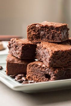 Espresso Brownies | Coley Cooks...