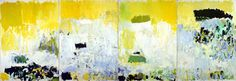 Joan Mitchell 'Salut Tom' 1979. Inspiration for mixologist Joe Ambrose of P.O.V at The W Hotel. ARTINI 2011