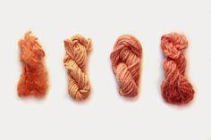 Pulchra: Teñido con cáscara y pepas de aguacate Lana, Knit Crochet, Textiles, Diy Crafts, Knitting, Fabric, Color, Wool Yarn, Merino Wool