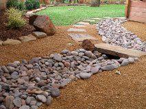 dry river- Baldi Gardens Arlington TX