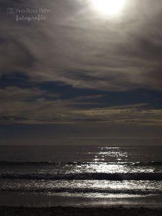 Playa de la Carnota, Galicia, España. Ana Rosa Adán, fotografia, mar, playa. Contraluz