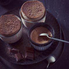 soufflé // chocolate // tonka