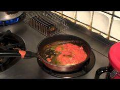 超簡単 トマトとモッツァレラチーズのスパゲティー - YouTube