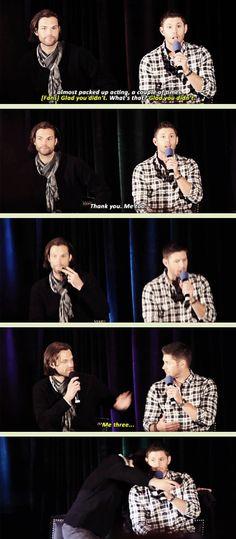 [GIFSET] Jared is Jensen's biggest supporter (besides Danneel :)