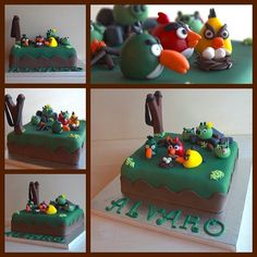 Los Angry Birds en tu cumpleaños!!
