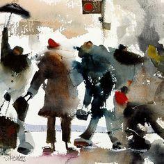 Watercolor paintings by Sue Howells