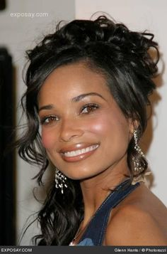 Rochelle Aytes - (April Malloy on Mistresses) The marriage of hair and make-up