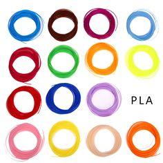 20 color/set 3D Printer Pen Filament ABS/PLA 1.75mm Plastic Rubber Consumables Material 3d pen filament Wholesale Price
