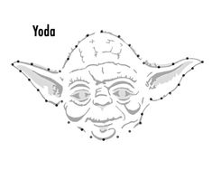 Yoda Template For Star Wars String Art From One Project Closer