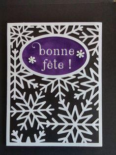 Enveloppe de la carte boule de neige crée par Karole Lemieux