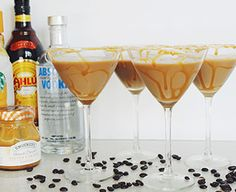 There are two things in life most of us enjoy: coffee and alcohol. Put them together and you get a magical concoction. Add salted caramel and O-M-G! This cocktail recipe is the perfect grown-up replacement for dessert.