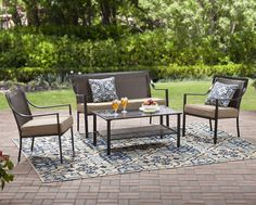 Garden 7PC Metal Conversation Pillows Set Outdoor Coffee Table Chairs Sofa Patio: $290.47End Date: Jan-20 06:53Buy It Now for… #eBay #Amazon