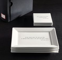 WILLIAMS-SONOMA M Lacaze French Map CHEESE Tidbit Appetizer TRAY Plates Portugal