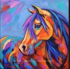 COLOURFUL HORSE