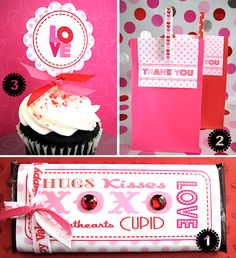 lots of cute FREE Valentine Printables
