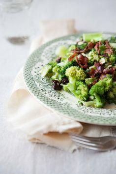 Broccoli Salad witih Bacon  Pecans by fiveandspice
