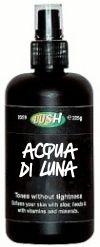 """""""Tea Tree water"""" LUSH // """"Acqua di Luna"""" LUSH  http://allaraoundlove.blogspot.it/2013/02/la-via-lattea-e-acqua-di-luna-lush.html#"""