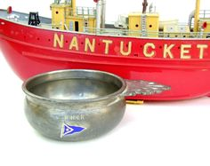 Vintage Nantucket Yacht Club Sailing Trophy Cup by OceansideCastle