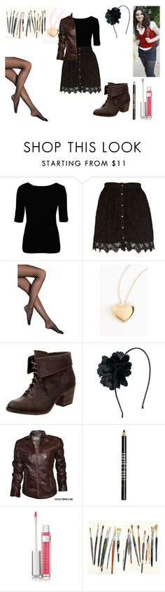 """""""Switched at Birth: Bay Kennish"""" by f-a-r-4504 ❤ liked on Polyvore featuring Katie, Vivienne Westwood Anglomania, River Island, Falke, Rocket Dog, Orelia, Lord & Berry and Chantecaille"""