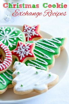 Christmas Cookie Exchange Recipes.