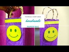Hello, In this video we will get to learn to make eco friendly bag. For this I am using handmade paper. Paper Bag Design, Wall Hanging Crafts, Bamboo Design, Eco Friendly Bags, Old Newspaper, Handmade Bags, Projects To Try, Make It Yourself, Frame
