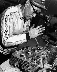 A legend in motorcycle racing sports. Street Fighter Motorcycle, Suzuki Motorcycle, Motorcycle Engine, Suzuki Motos, Soichiro Honda, Cafe Racer Parts, Riders On The Storm, Push Bikes, Vintage Bikes