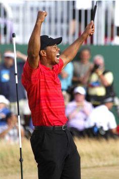 Tiger Woods British Open, Hoylake, England 2006.