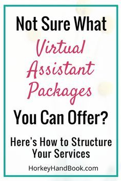 Ready to make more money as a virtual assistant? Then you should offer packages. via Gina Horkey, Horkey HandBook Earn Money From Home, Make More Money, Extra Money, Make Money Online, Extra Cash, Virtual Assistant Services, Work From Home Moms, Online Work, Online Business
