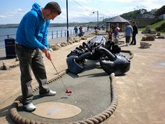 The Ham and Egger Files: Filey - Ocean Drive Crazy Golf - Crazy World of Minigolf Tour - Course Played #56 (from the Archives)