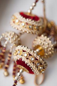 Featured Indian Weddings,red,gold,cream,white,bridal jewelry,Photography,Garrett Frandsen Photography,indian wedding jewelry,indian bridal j...