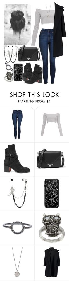 """""""Sin título #2930"""" by agus-lapipita ❤ liked on Polyvore featuring Topshop, Christian Louboutin, Alexander Wang, Red Herring, Casetify, Maria Black, City Style, Diana Warner and Jil Sander"""