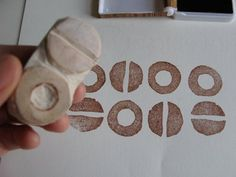 rubber eraser stamp from supercozy: February 2009