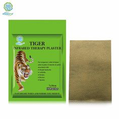Health Care KONGDY Tiger Capsicum Plaster 10 Pieces/Bag 7*10 CM Medical Pain Relief Patch for Back/Neck/Arthritic Pain and Ache