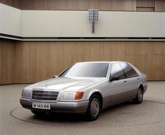 OG   1991 Mercedes-Benz S-Class - W140   Full size clay model - Final design dated 1986